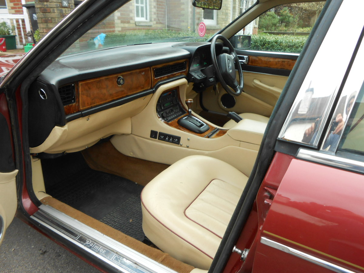 1988 Daimler jag xj40 3.6 auto 54,000 miles For Sale (picture 5 of 6)