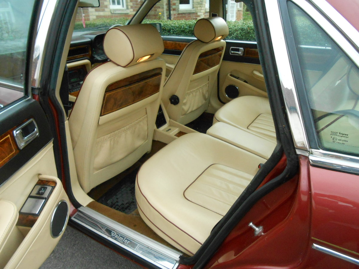 1988 Daimler jag xj40 3.6 auto 54,000 miles For Sale (picture 6 of 6)