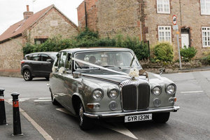 1974 FABULOUS WEDDING READY DAIMLER DS420 LIMOUSINE For Sale