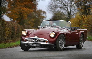 1964 Daimler Dart SP250 ~ Last of the 'C' Series
