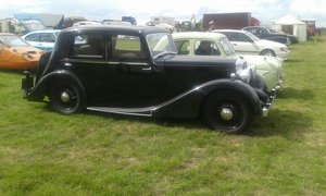 1936 Daimler Fifteen Sports Saloon