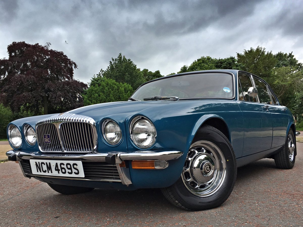 1977 Daimler Sovereign Manual O/D - 31,000 MILES - 1 Family For Sale (picture 1 of 6)