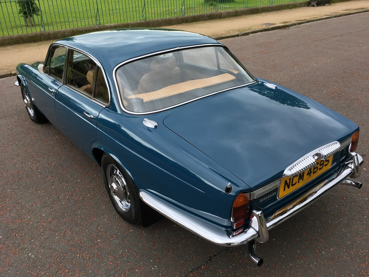 1977 Daimler Sovereign Manual O/D - 31,000 MILES - 1 Family For Sale (picture 2 of 6)