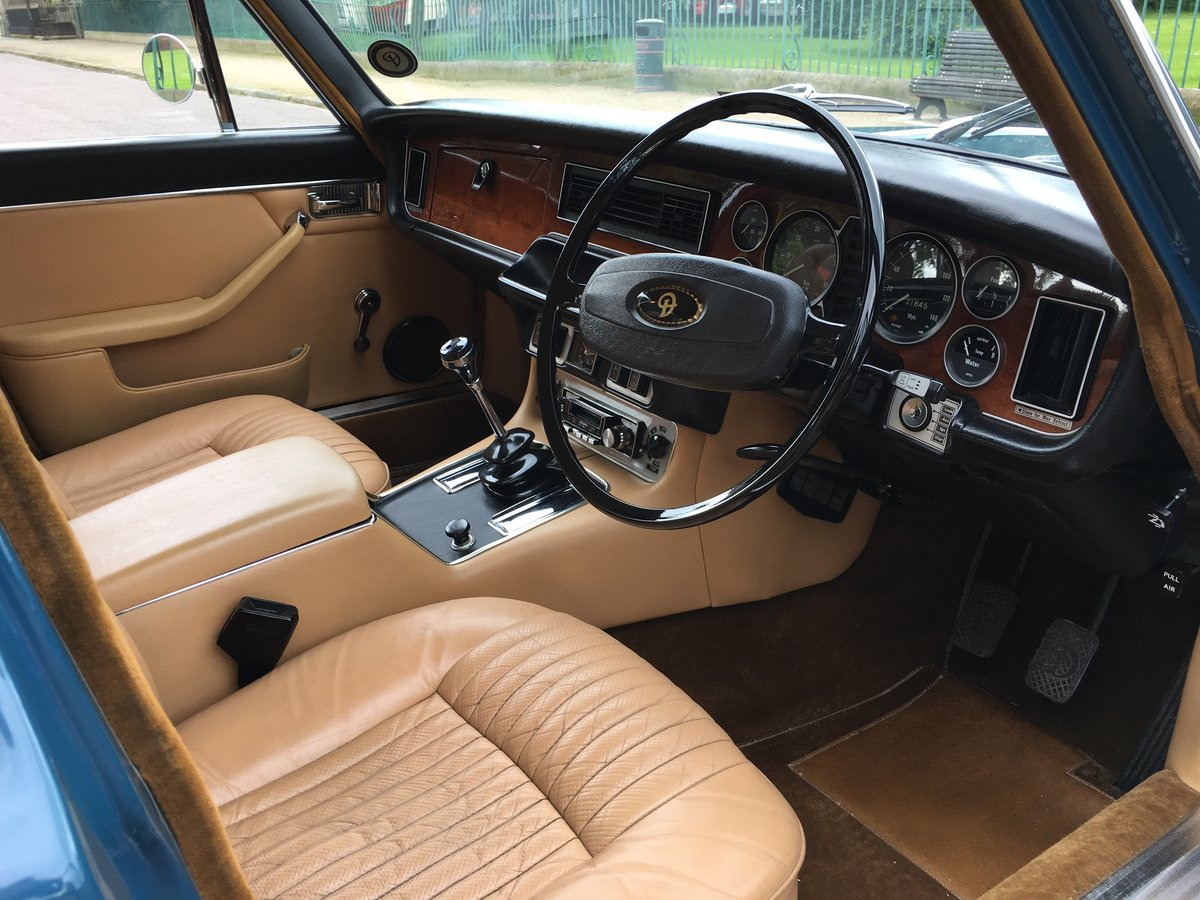 1977 Daimler Sovereign Manual O/D - 31,000 MILES - 1 Family For Sale (picture 5 of 6)