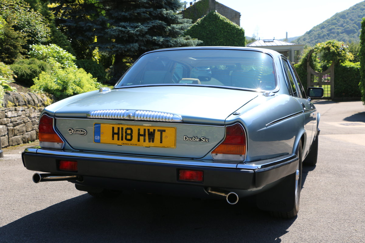 Daimler Double Six 1991, Immaculate UK Car For Sale (picture 3 of 6)