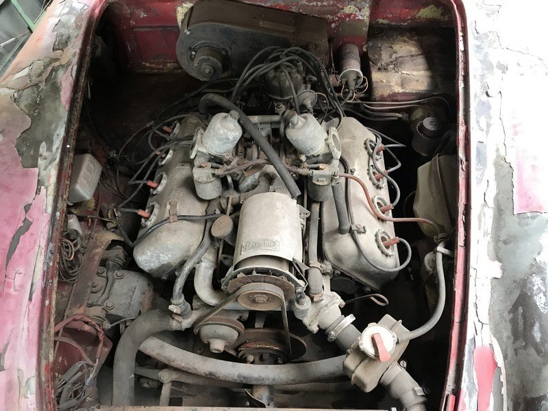 1963 Daimler Dart for restoration For Sale (picture 4 of 6)