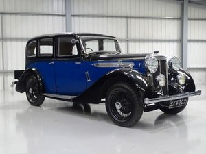 1936 Daimler Light 20 Saloon For Sale by Auction