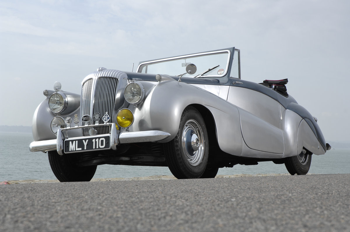 1952 Daimler Barker Special Sport For Sale (picture 1 of 6)