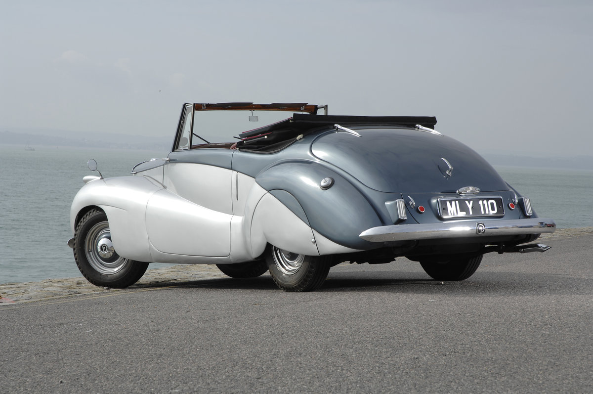 1952 Daimler Barker Special Sport For Sale (picture 2 of 6)