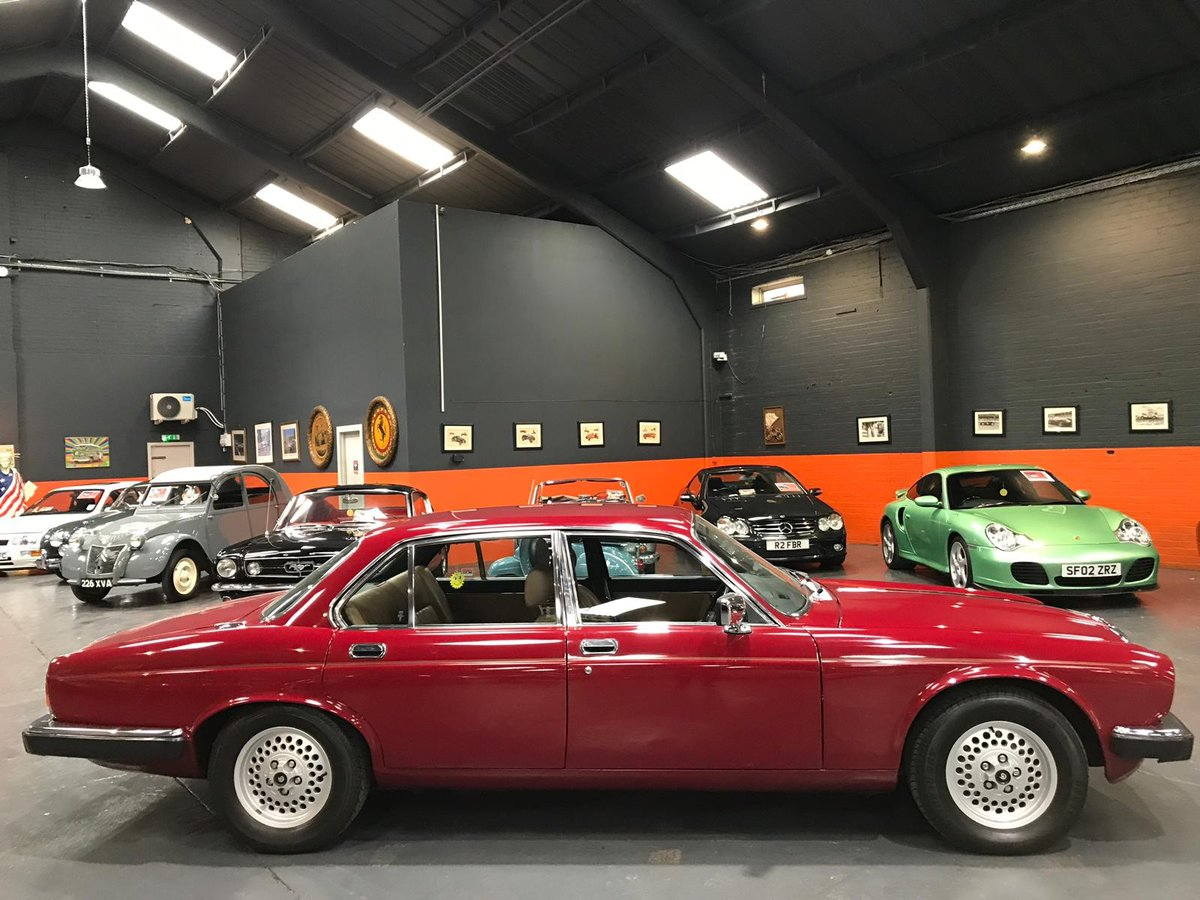 1980 DAIMLER DOUBLE SIX V12 ONLY 46000 MILES FROM NEW For Sale (picture 6 of 6)