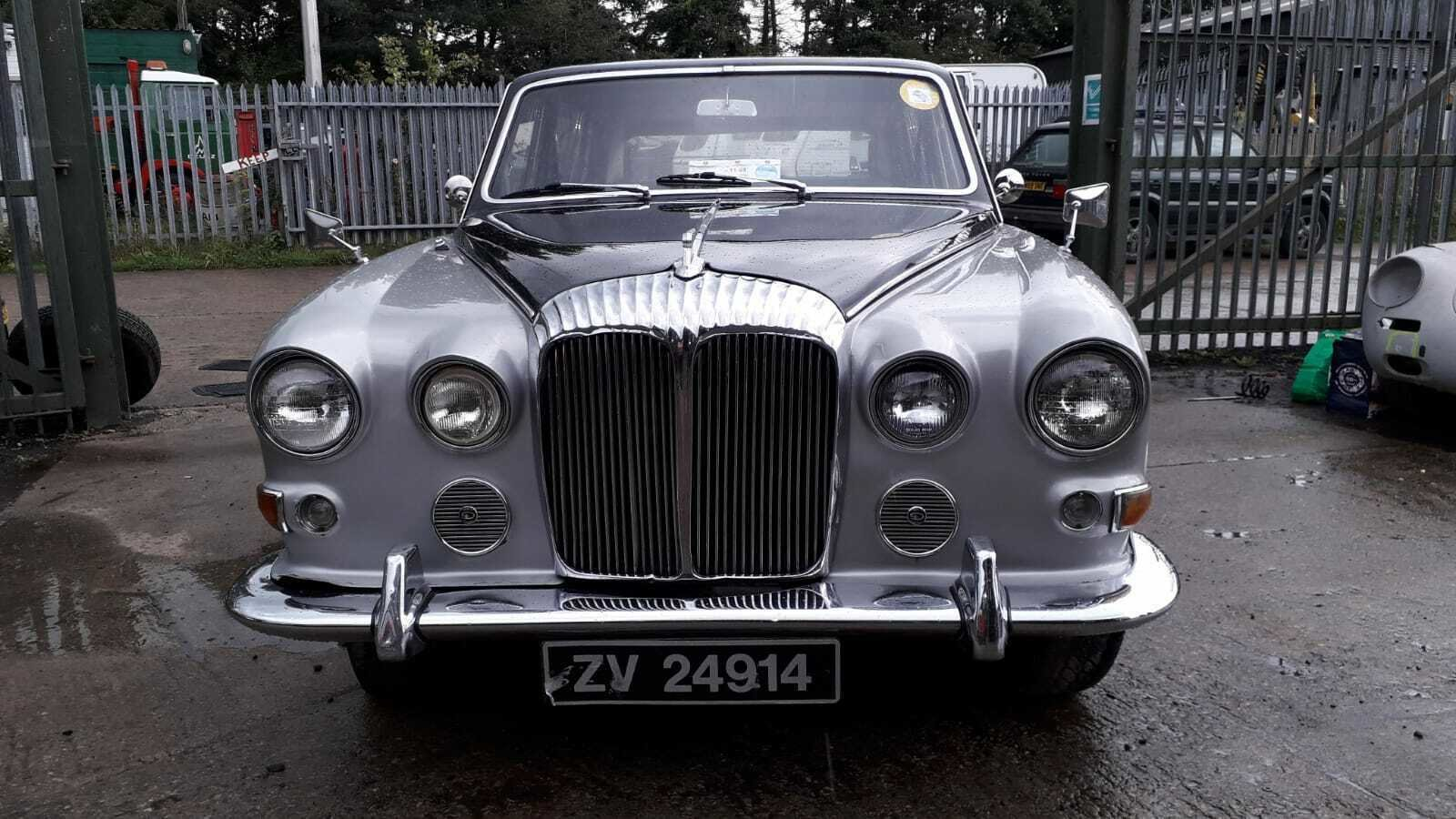 1972 DAIMLER LIMOUSINE CLASSIC CAR TAX & MOT EXEMPT WEDDING For Sale (picture 1 of 6)