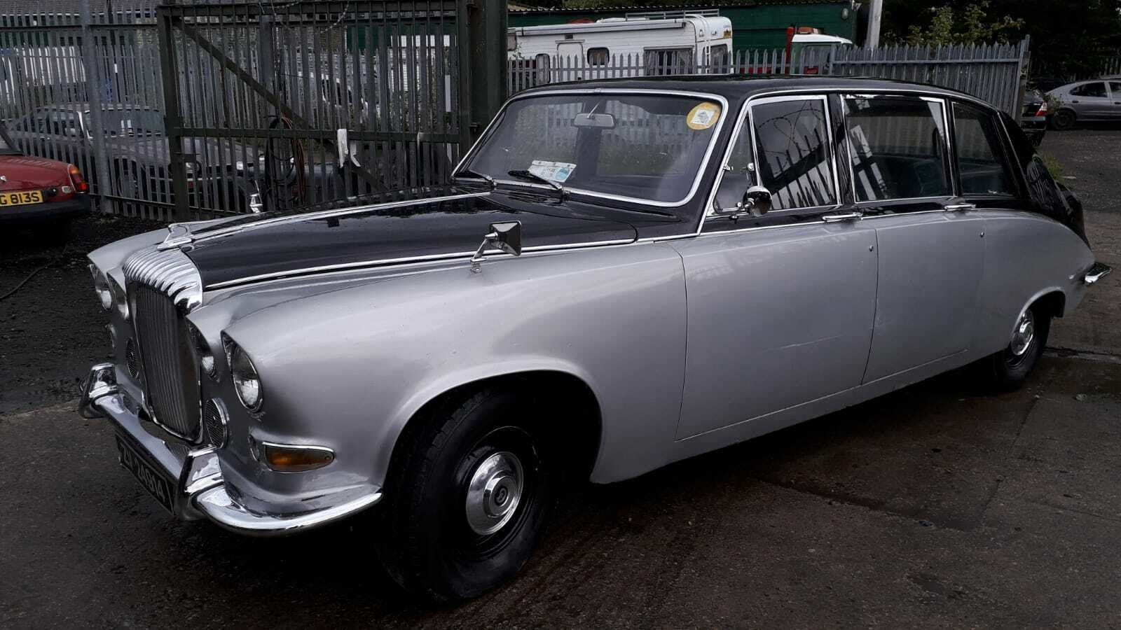 1972 DAIMLER LIMOUSINE CLASSIC CAR TAX & MOT EXEMPT WEDDING For Sale (picture 2 of 6)