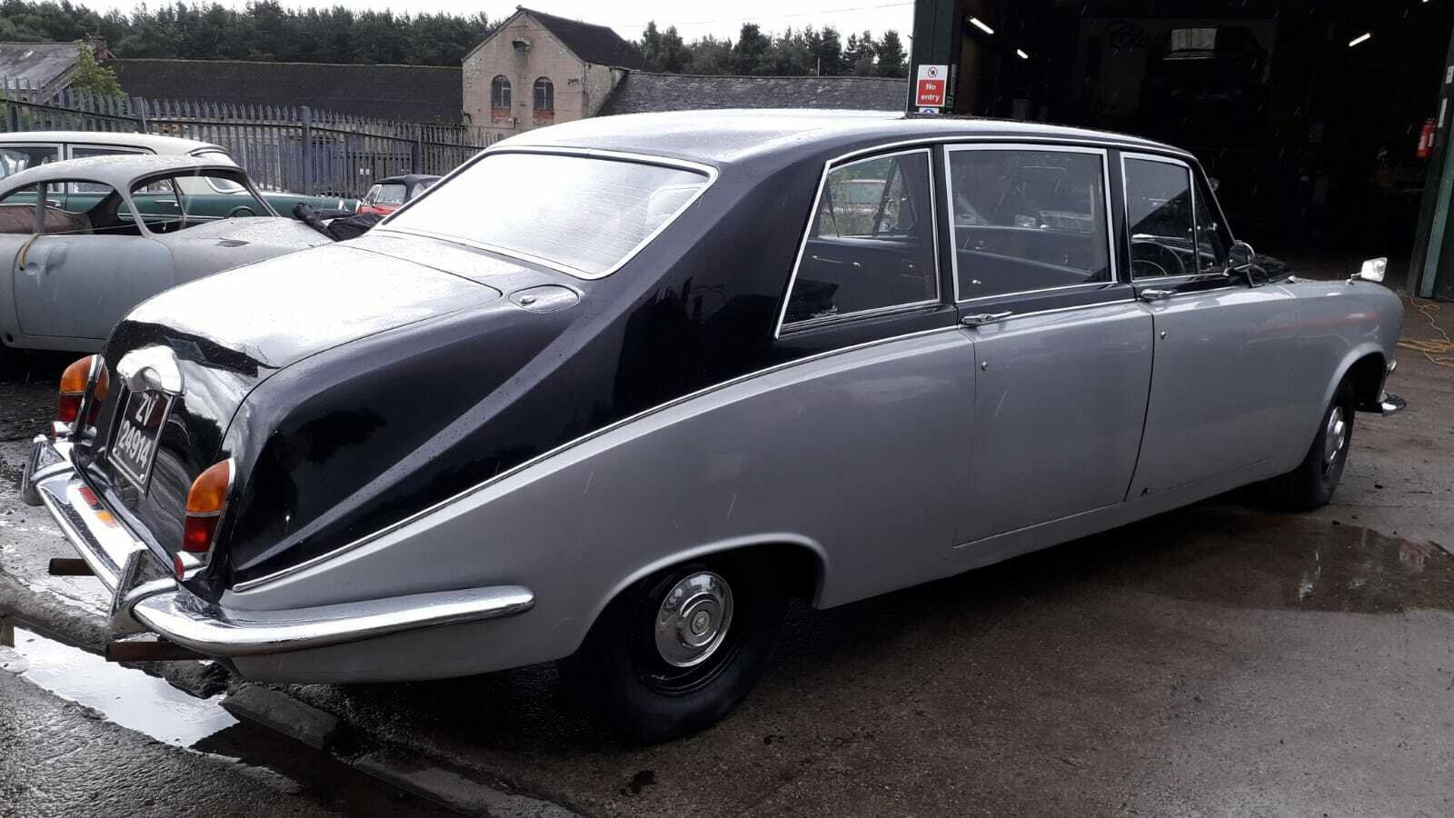 1972 DAIMLER LIMOUSINE CLASSIC CAR TAX & MOT EXEMPT WEDDING For Sale (picture 4 of 6)