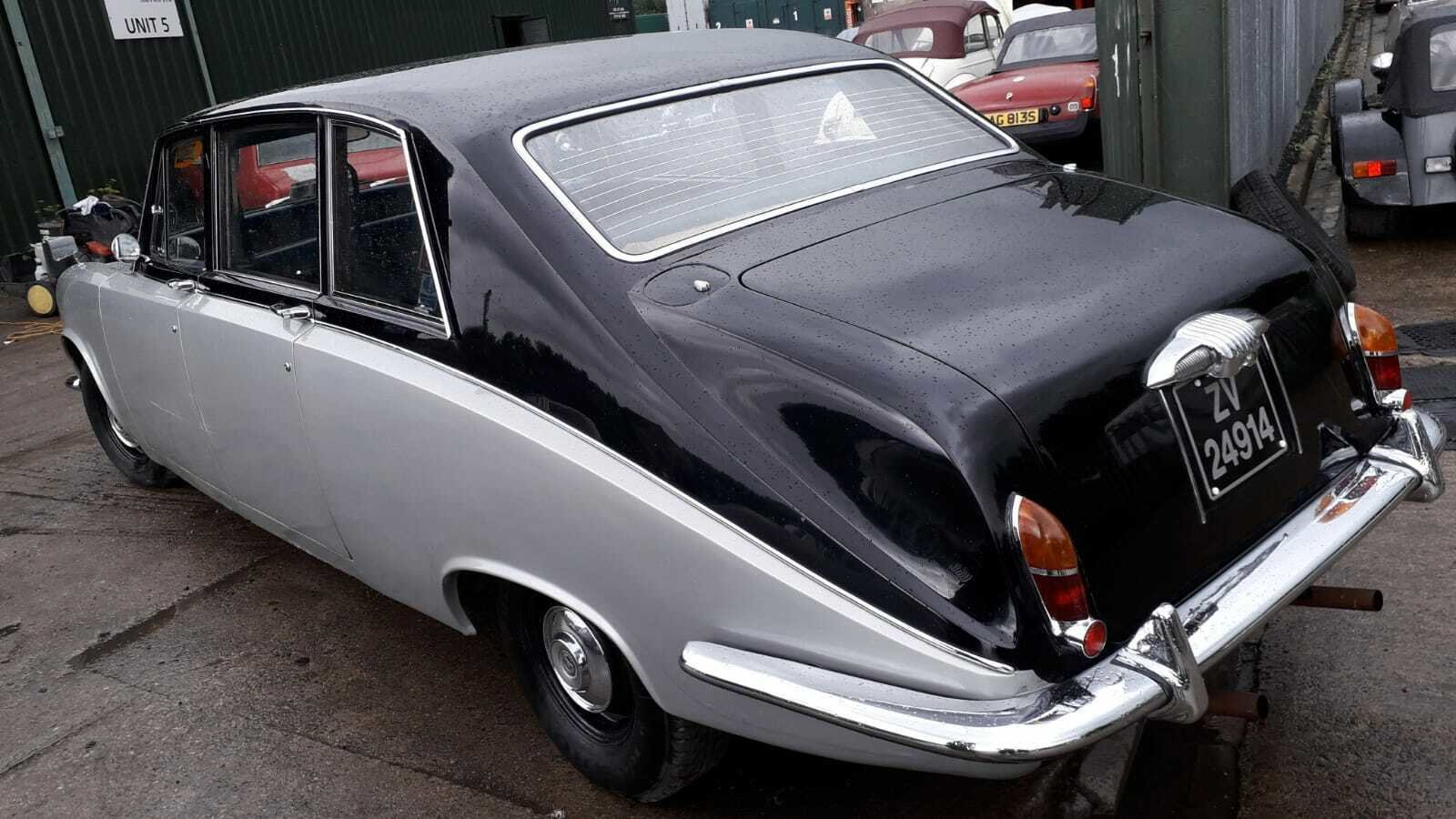 1972 DAIMLER LIMOUSINE CLASSIC CAR TAX & MOT EXEMPT WEDDING For Sale (picture 5 of 6)
