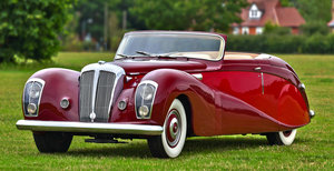 1948 Daimler DE36 Drophead Coupé by Hooper For Sale