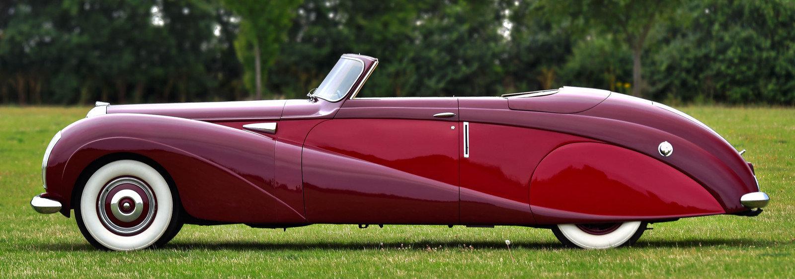 1948 Daimler DE36 Drophead Coupé by Hooper For Sale (picture 2 of 6)