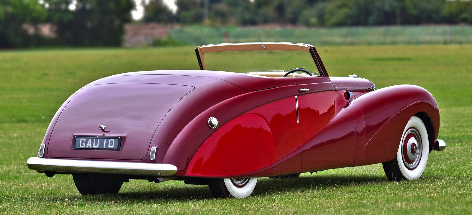 1948 Daimler DE36 Drophead Coupé by Hooper For Sale (picture 3 of 6)