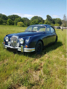 1968 Daimler V8 250 mk2 about to undergo restoration