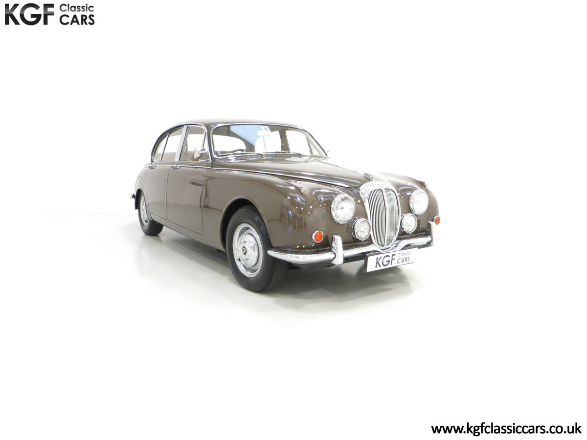 1969 A Delicious Daimler 250 V8 Manual Overdrive 47,091 Miles For Sale (picture 1 of 6)