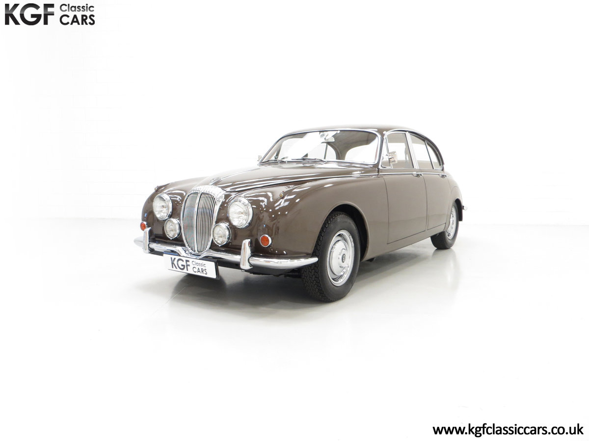 1969 A Delicious Daimler 250 V8 Manual Overdrive 47,091 Miles For Sale (picture 2 of 6)