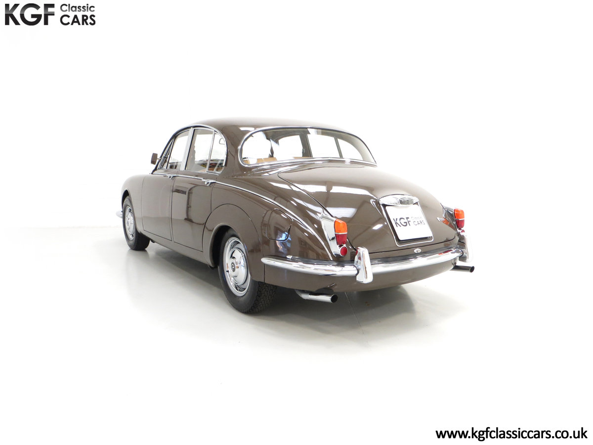 1969 A Delicious Daimler 250 V8 Manual Overdrive 47,091 Miles For Sale (picture 4 of 6)