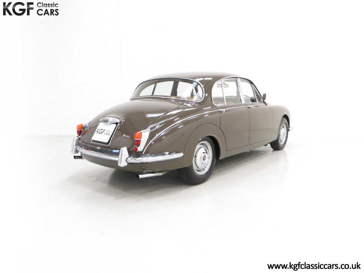 1969 A Delicious Daimler 250 V8 Manual Overdrive 47,091 Miles For Sale (picture 5 of 6)
