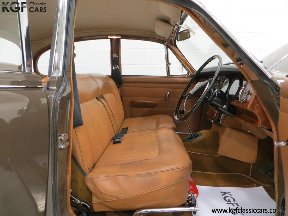 1969 A Delicious Daimler 250 V8 Manual Overdrive 47,091 Miles For Sale (picture 6 of 6)