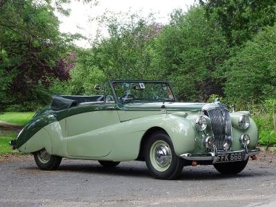1952 Daimler DB18 Special Sports Drophead Coupe For Sale by Auction (picture 1 of 6)