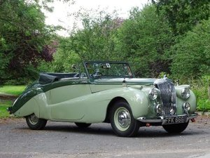 1952 Daimler DB18 Special Sports Drophead Coupe For Sale by Auction