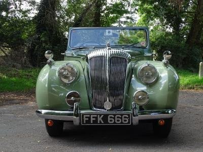 1952 Daimler DB18 Special Sports Drophead Coupe For Sale by Auction (picture 2 of 6)