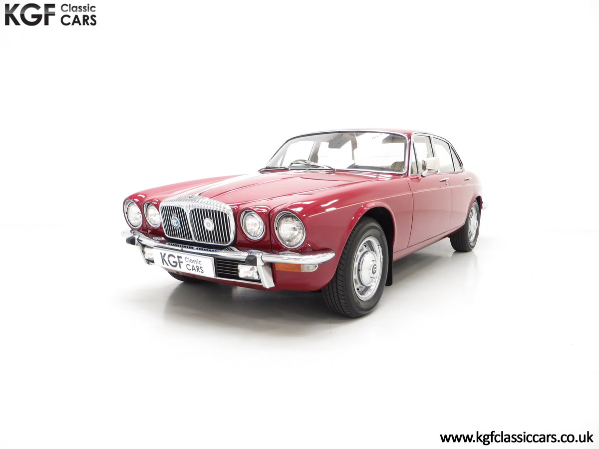 1973 A Daimler Sovereign 4.2 Litre Series II with 44,913 Miles SOLD (picture 2 of 6)