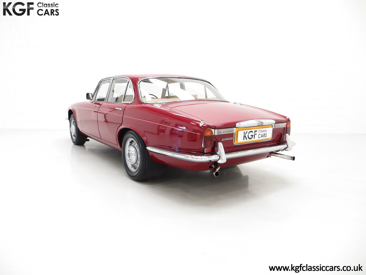 1973 A Daimler Sovereign 4.2 Litre Series II with 44,913 Miles SOLD (picture 4 of 6)