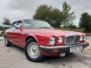 Very low mileage original UK 1988 Daimler Double six