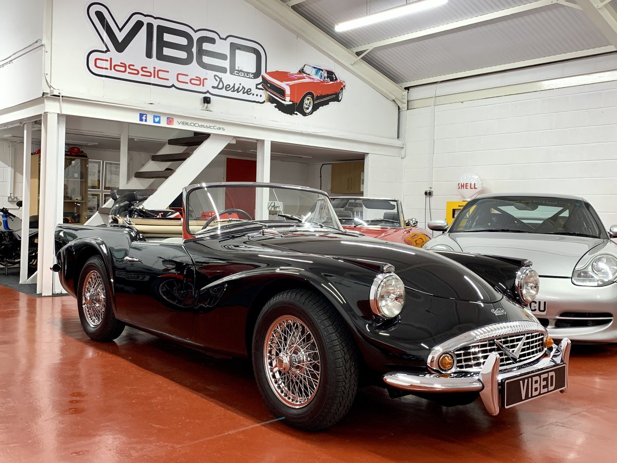 Daimler SP250 Dart 1963 // Genuine RHD UK Car For Sale (picture 1 of 6)