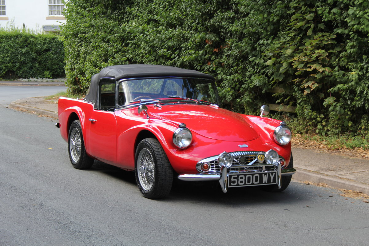 1961 Daimler SP250 Dart, 70k miles, history from new For Sale (picture 1 of 21)