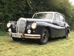 1955 Rare Daimler easy running restoration project