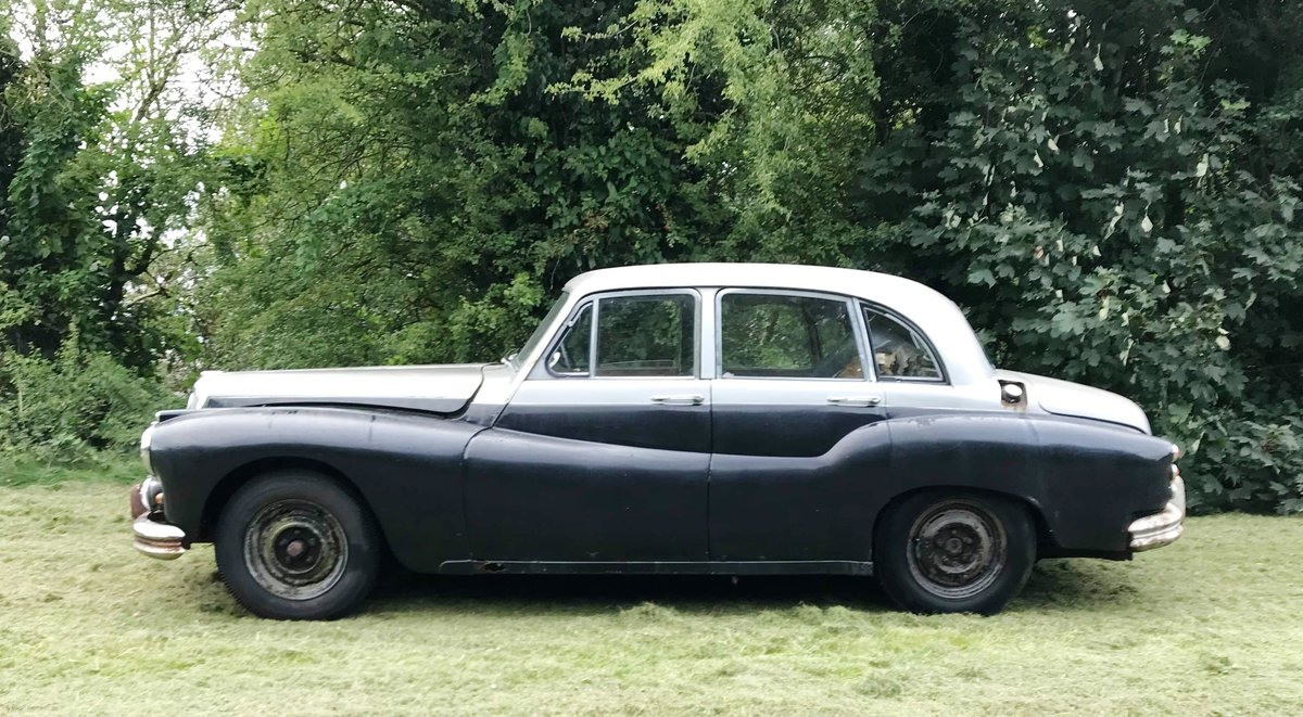 1955 Rare Daimler easy running restoration project For Sale (picture 3 of 6)