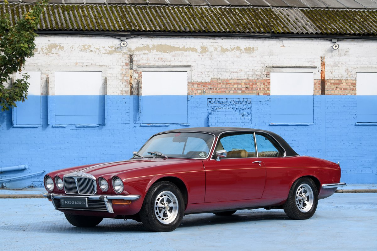 1978 Daimler Double-Six V12 Coupé For Sale (picture 1 of 13)