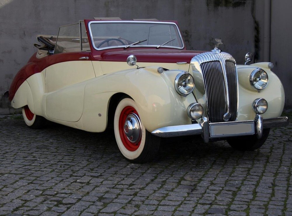 1952 Daimler DB18 Sports Special convertable For Sale (picture 2 of 6)