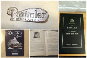 0000 DAIMLER & DAIMLER DART HANDBOOKS BOOKS AND PARTS FOR SALE
