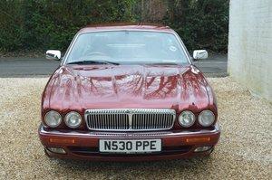 1995 Daimler 4 litre Auto LWB Flamingo Red For Sale