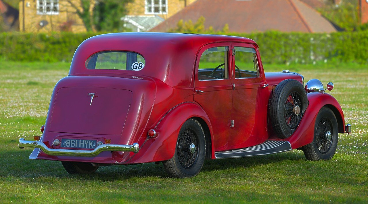 1939 Daimler EL24 Charlesworth Sports Saloon For Sale (picture 3 of 6)
