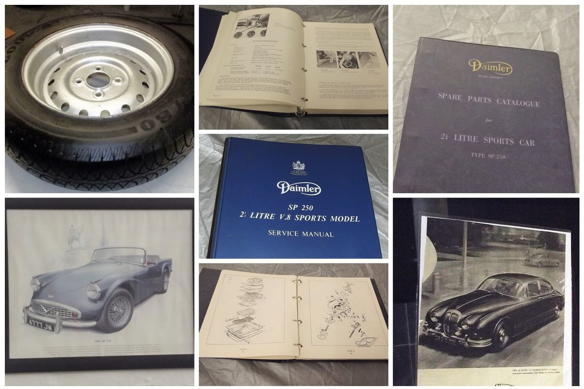 0000 DAIMLER AND DART HANDBOOKS BOOKS  For Sale (picture 4 of 6)
