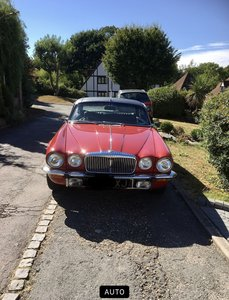 Picture of 1977 daimler coupe
