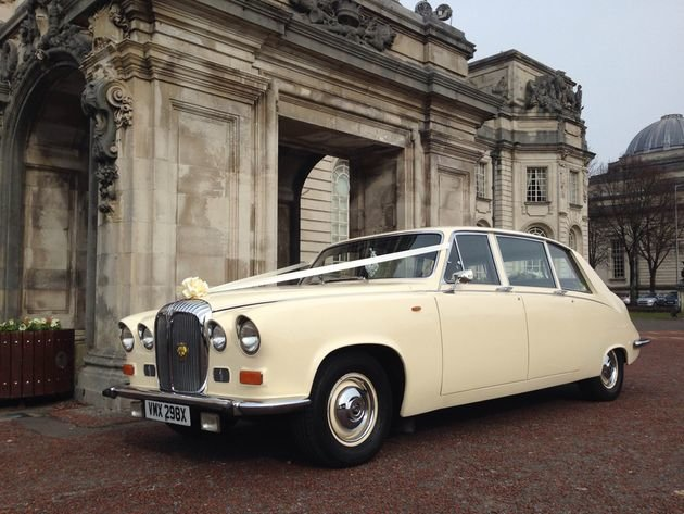 1981 Daimler DS420 Wedding Limo For Sale (picture 2 of 5)