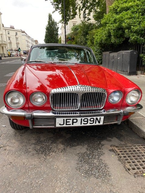 1975 Beautiful daimler serie 2 many expenses on it For Sale (picture 2 of 6)