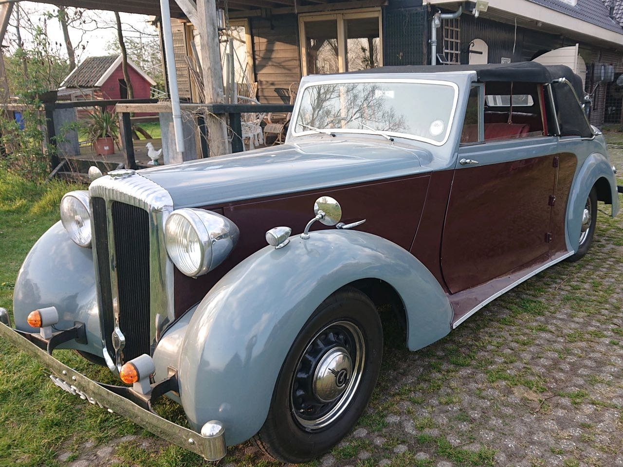 1950 Daimler DB18 three position drophead For Sale (picture 1 of 6)