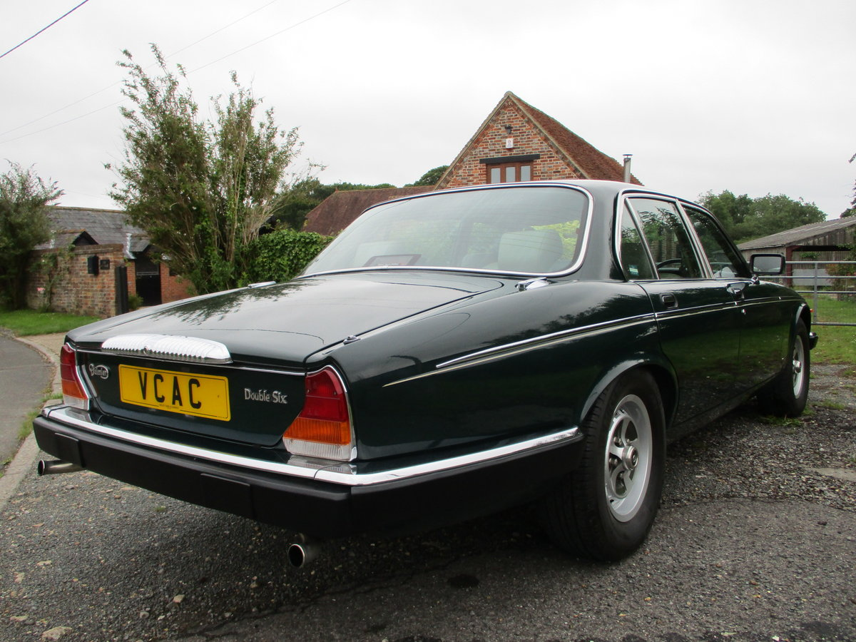 1991 Daimler Double Six in BRG SOLD (picture 2 of 6)