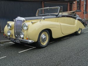 1951 Daimler DB18 Special Sports Drophead Coupe For Sale by Auction