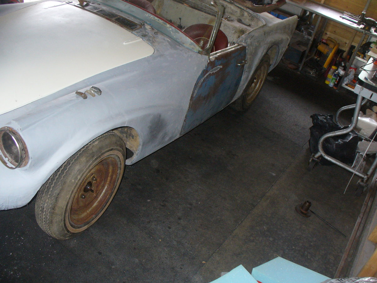 1961 daimler sp250 rhd project daimler dart For Sale (picture 6 of 6)